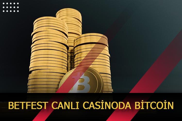 Betfest Canlı Casinoda Bitcoin